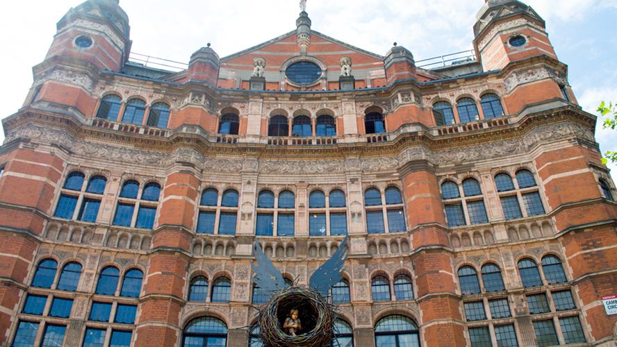Palace Theatre London Exterior