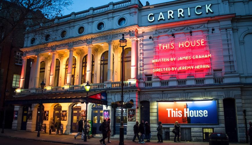 Garrick Theatre Charing Cross Road This House