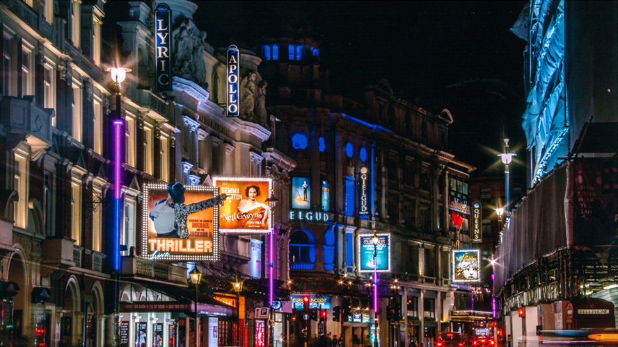 Shaftesbury Avenue London Theatre