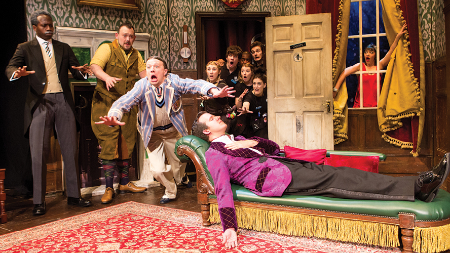 the play that goes wrong trailer