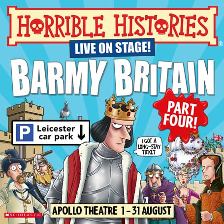 HORRIBLE HISTORIES – BARMY BRITAIN – PART FOUR!