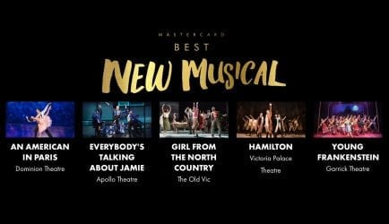 2018 OLIVIER AWARD NOMINEES ANNOUNCED