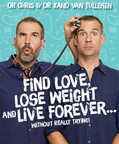 FIND LOVE, LOSE WEIGHT AND LIVE FOREVER…WITHOUT REALLY TRYING