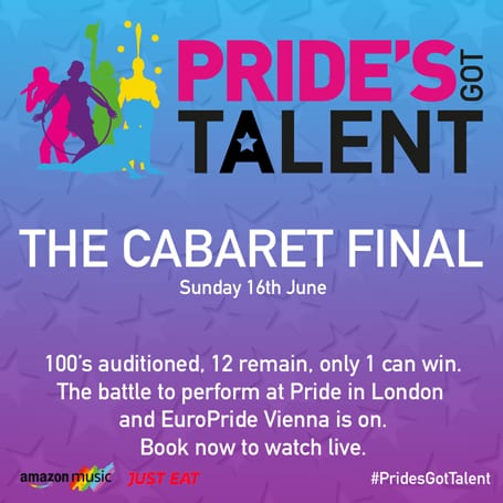 PRIDES GOT TALENT FINALS – THE CABERET FINAL