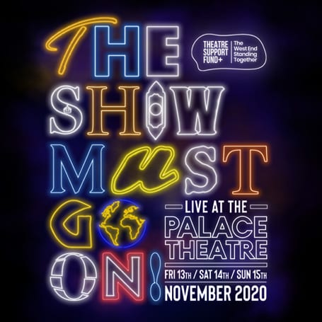 THE SHOW MUST GO ON – LIVE AT THE PALACE
