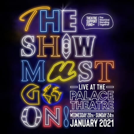 THE SHOW MUST GO ON! – LIVE AT THE PALACE