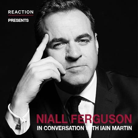 Niall Ferguson in conversation with Iain Martin